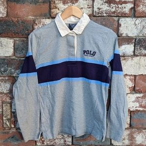 76caeff1 Polo by Ralph Lauren Shirts | Vintage Polo Jeans Co Rugby Shirt ...